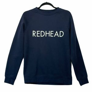 Brunette The Label REDHEAD Navy Sweater